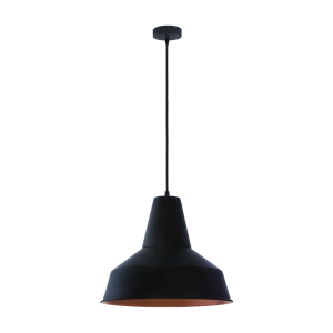 EGLO SOMERTON LAMPU GANTUNG HIAS E27 - HITAM