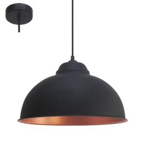 EGLO TRURO2 LAMPU GANTUNG HIAS E27 - HITAM