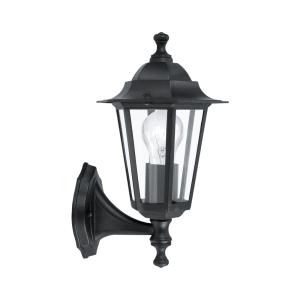 EGLO LATERNA-4 LAMPU DINDING - HITAM