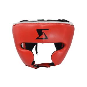 HEAD GUARD BOXING CLASSIC SIZE M - MERAH