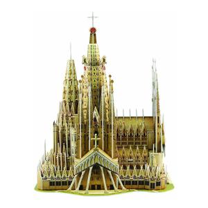 SCHOLAS 3D PUZZLE POP OUT WORLD SAGRADA FAMILIA BASILICA