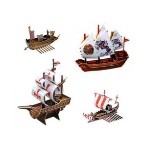 SCHOLAS 3D PUZZLE POP OUT WORLD SHIP SERIES
