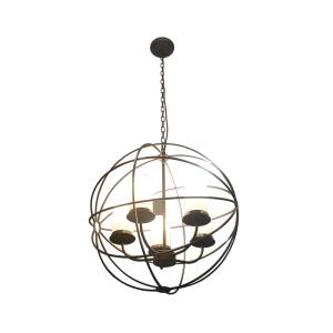 GLOBE LAMPU GANTUNG HIAS 58X66 CM - COKELAT TUA