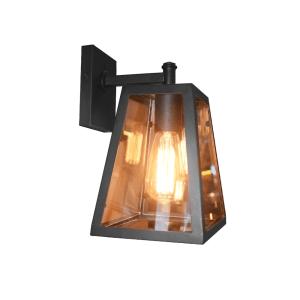 LANDON LAMPU DINDING 21X22X28CM - COKELAT TUA