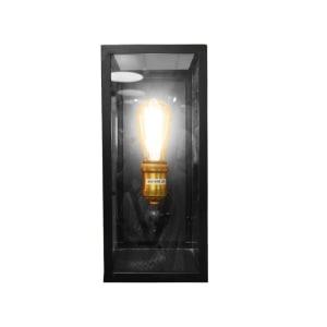 LANDON LAMPU DINDING 17X35CM - COKELAT