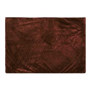 GLERRY HOME DECOR KARPET BULU SQUARE CHOCOLATE 200X150 CM