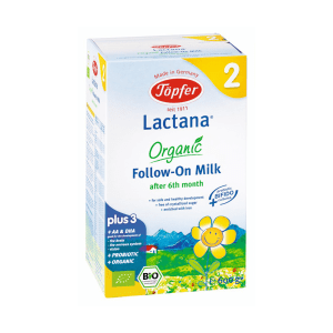 TOPFER SUSU LACTANA ORGANIC FOLLOW ON 2