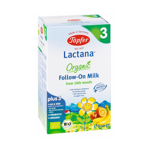 TOPFER SUSU LACTANA ORGANIC FOLLOW ON 3