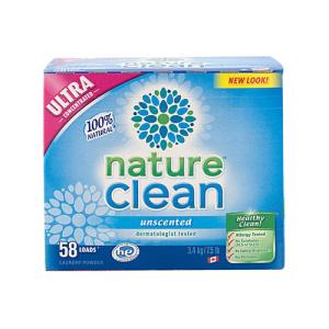 NATURE CLEAN DETERGEN BUBUK MESIN CUCI 3,4 KG