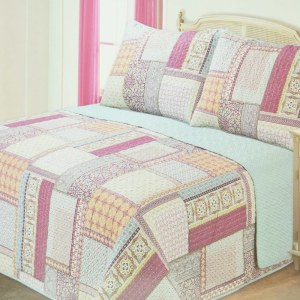 BED COVER 240X210 CM NT454 - PINK