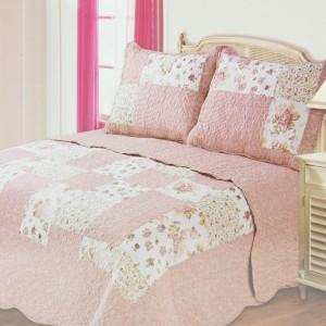 BED COVER 240X210 CM NT411 - PINK