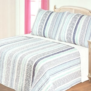 BED COVER 240X210 CM NT5174 - BIRU