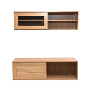SET KABINET DARIO DECKER - WALNUT