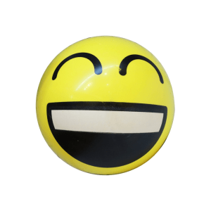 INNOVATIVE BALLS DECAL EMOTICON LAUGHING 21 CM
