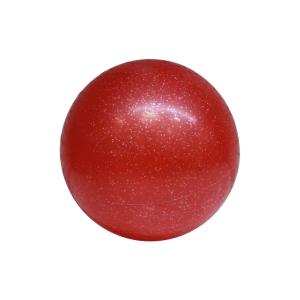 INNOVATIVE BALLS DECAL GLITTER 21 CM - MERAH