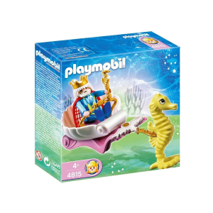 PLAYMOBIL SET MINIATUR OCEAN KING WITH SEA HORSE CARRIAGE