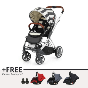 BABY STYLE OYSTER 2 STROLLER - HITAM HUMBUG PLUS