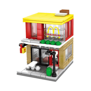 SEMBO NANO BLOCK FAST FOOD OUTLET