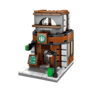 SEMBO NANO BLOCK COFFEE SHOP