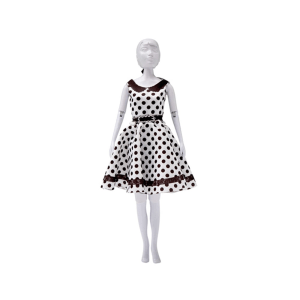 DRESS YOUR DOLL PEGGY DOTS
