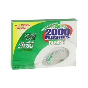 2000 FLUSHES CAIRAN PEMBERSIH TOILET CHLORINE TWIN 35.4 ML