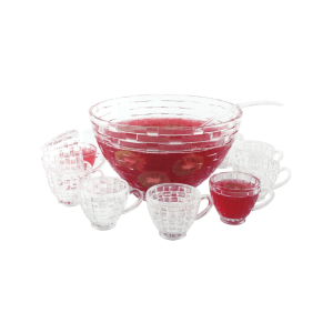 DELICIA SET PUNCH BOWL 12 PCS