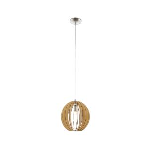 EGLO COSSANO LAMPU GANTUNG HIAS E27 D30 - COKELAT MUDA