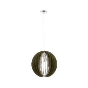 EGLO COSSANO LAMPU GANTUNG HIAS E27 D50 - COKELAT