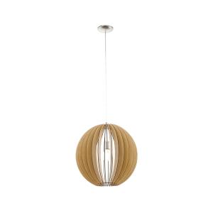 EGLO COSSANO LAMPU GANTUNG HIAS E27 D70 - COKELAT MUDA