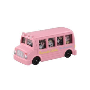 TOMICA SNOOPY GIRLS BUS