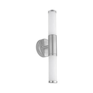 EGLO PALMERA LAMPU DINDING 2L E14 - NICKLE OPAL