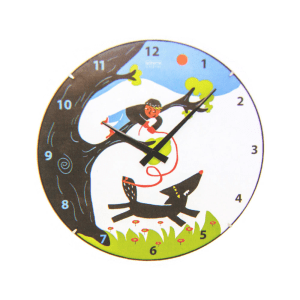 JAM DINDING PETER AND THE WOLF 35 CM