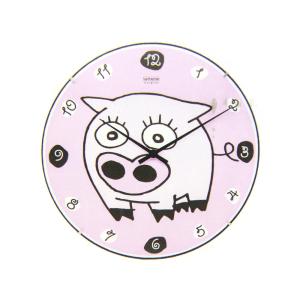 JAM DINDING MOTIF PIGGY 35 CM