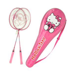 HELLO KITTY SET RAKET BADMINTON