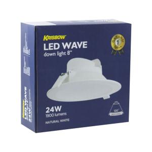 KRISBOW LAMPU SOROT LED 20 CM 24W 4000K