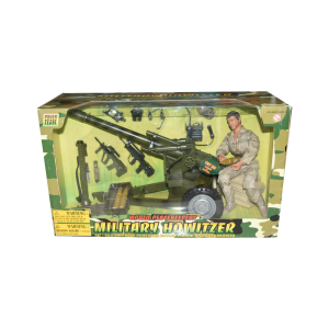 POWER TEAM ACTION FIGURE MILITARY HOWITZER 90053