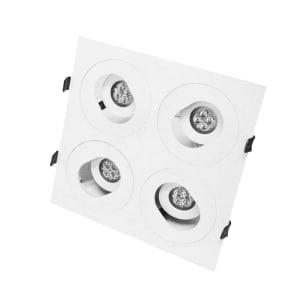 KRISBOW LAMPU SOROT LED 4 TITIK EXPLORE
