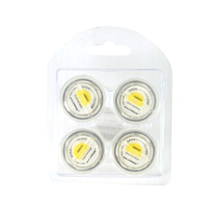 EVLUMEN SET LILIN LED KECIL 4 PCS - AMBER