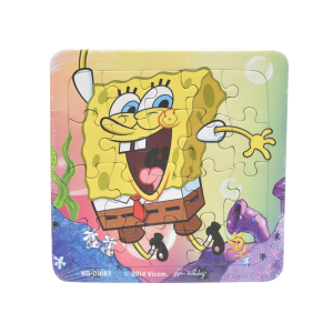 NICKELODEON PUZZLE SPONGEBOB 3IN1 NB-01683