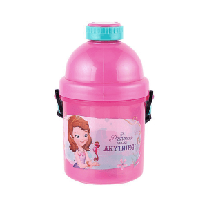 DISNEY SOFIA THE FIRST CANTEEN PUSH BOTOL MINUM 330 ML  - PINK