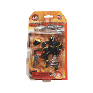 POWER TEAM ACTION FIGURE FIRE FIGHTER 77301