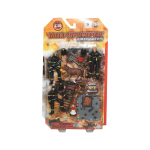 POWER TEAM ACTION FIGURE FIRE FIGHTER 77303