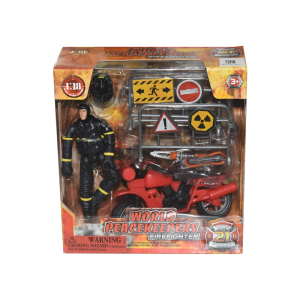 POWER TEAM ACTION FIGURE FIRE FIGHTER 77310