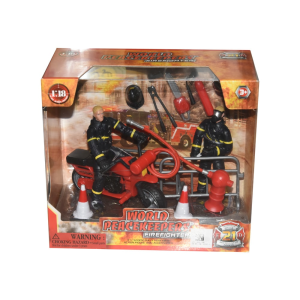 POWER TEAM ACTION FIGURE FIRE FIGHTER 7319