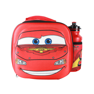 DISNEY SET TAS BEKAL 3D & BOTOL MINUM CARS