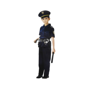 ARTPRO KOSTUM POLISI UKURAN 8 - BIRU