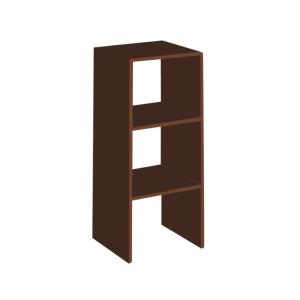 RAK penyimpanan SERBAGUNA VERTICAL 80 cm - cokelat