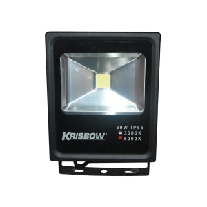 KRISBOW LAMPU LED FLOOD 30W 6000K IP65
