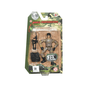 POWER TEAM ACTION FIGURE MILITARY 77001