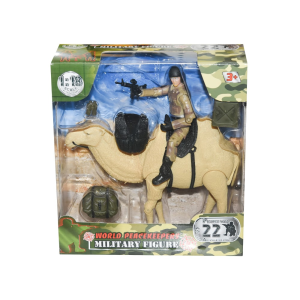 POWER TEAM ACTION FIGURE MILITARY 77010